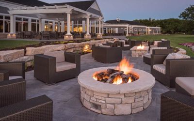 The Ultimate Bonfire Experience: Paver Patio & Fire Pit