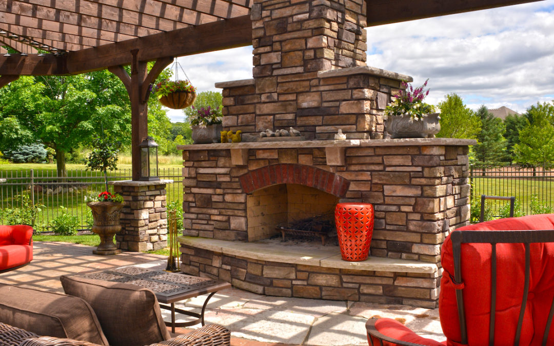 How to Enjoy Your Outdoor Living Area In the Winter