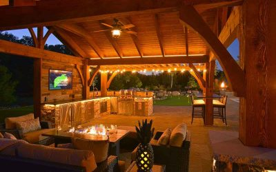 Outdoor Fire Features to Fit Your Home